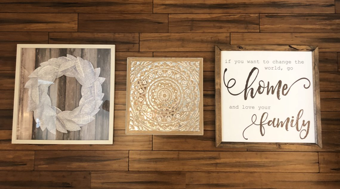 Home Wall Decor Inspiration, Signs