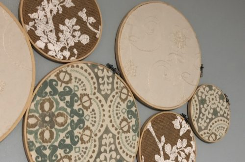 Embroidery Hoop Fabric Craft