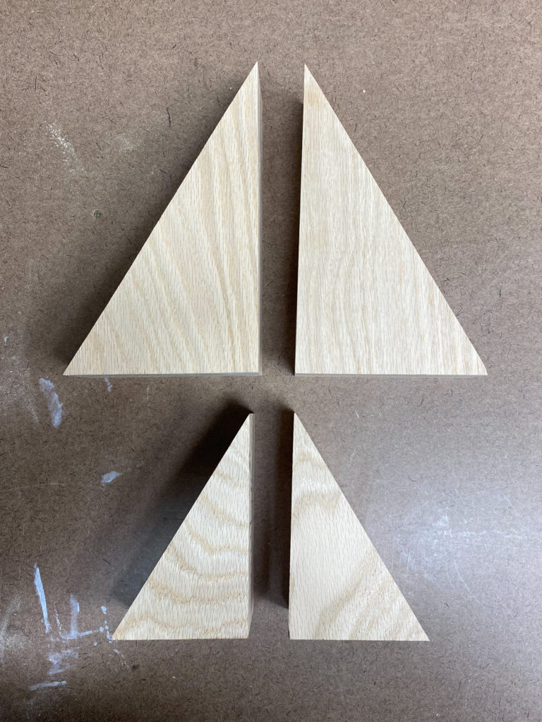 Cut Wood for Mountain Bookends
