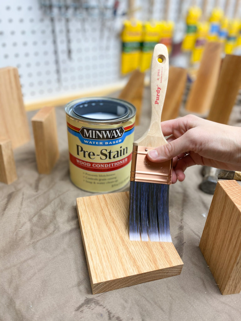 Applying Minwax Pre-Stain Wood Conditioner